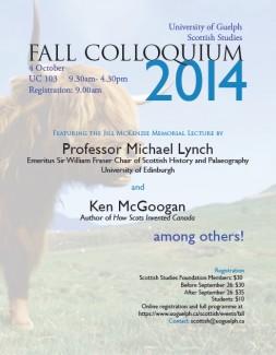 fall colloquium