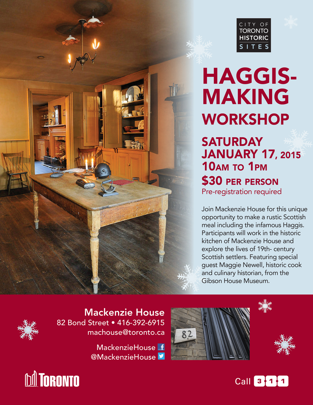 haggis workshop